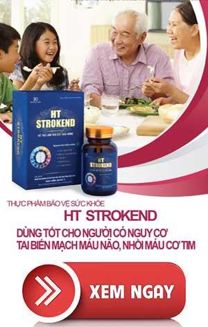 HT Strokend – Hỗ Trợ Điều Trị tai biến mạch máu não